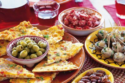 Catering tapas