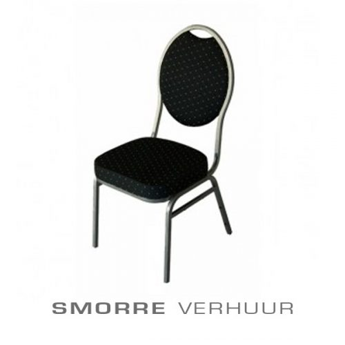 Stack chair zwart