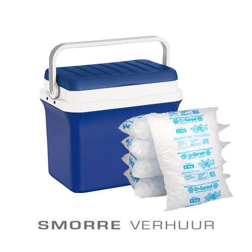 Goede Koelbox met 6 kilo ijsblokjes. - Smorre catering en verhuur service JO-25