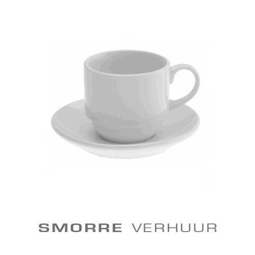 Koffiekop en schotel huren