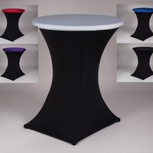 Statafel linnen huren zwart-wit